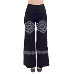 Black Arrow Tie Dye Palazzo Pants by CoolDesigns