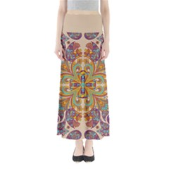 Beige Bohemia Maxi Skirt by CoolDesigns