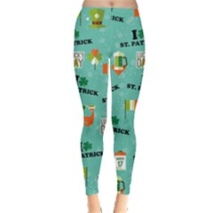 St Patrick Mint Leggings  by CoolDesigns