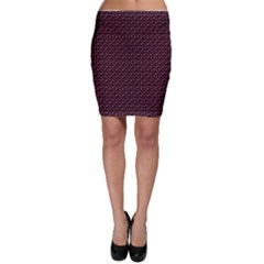 Black Abstract Pattern Bodycon Skirt by CoolDesigns