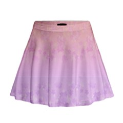 Pink Hawaii 2 Mini Flare Skirt by CoolDesigns