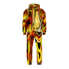 Colourful Abstract Background Design Hooded Jumpsuit (kids) by Simbadda
