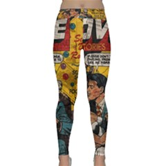 Love Stories Classic Yoga Leggings by Valentinaart