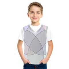 Four Way Venn Diagram Circle Kids  Sportswear by Mariart