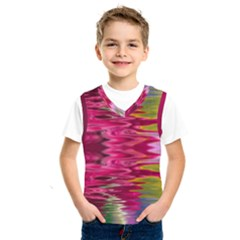 Abstract Pink Colorful Water Background Kids  Sportswear by Simbadda