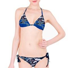 Colorful Reflections In Water Bikini Set