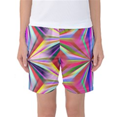Star A Completely Seamless Tile Able Design Women s Basketball Shorts by Nexatart