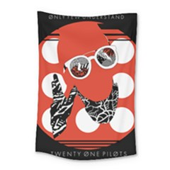 Twenty One Pilots Poster Contest Entry Small Tapestry by Onesevenart