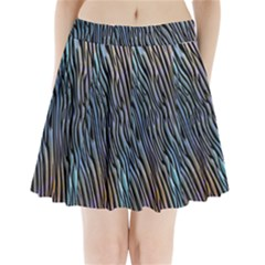 Abstract Background Wallpaper Pleated Mini Skirt by Nexatart