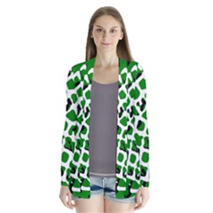 Abstract Clutter Cardigans by Nexatart