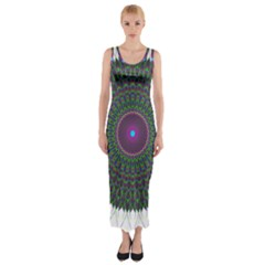 Pattern District Background Fitted Maxi Dress