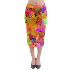 Colorful Shapes               Midi Pencil Skirt
