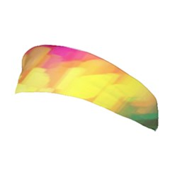 Pastel Shapes Painting            Stretchable Headband