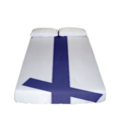 Orthodox Cross  Fitted Sheet (full/ Double Size) by abbeyz71
