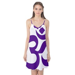 Hindu Om Symbol (purple) Camis Nightgown by abbeyz71