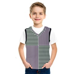 Mccollough Test Image Colour Effec Line Kids  Sportswear by Mariart