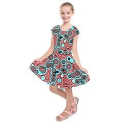 Bubble Fun 17b Kids  Short Sleeve Dress