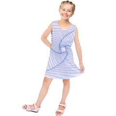 Spirograph Pattern Drawing Design Kids  Tunic Dress by Nexatart
