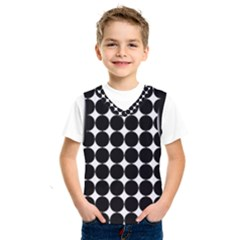 Dotted Pattern Png Dots Square Grid Abuse Black Kids  Sportswear by Mariart