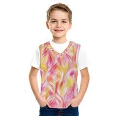 Pretty Painted Pattern Pastel Kids  Sportswear by Nexatart