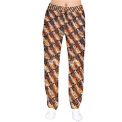 Dirty Pattern Roof Texture Drawstring Pants by Nexatart