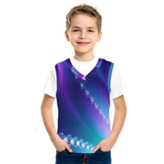Flow Blue Pink High Definition Kids  Sportswear by Mariart