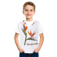 Bird Of Paradise Kids  Sportswear by Valentinaart