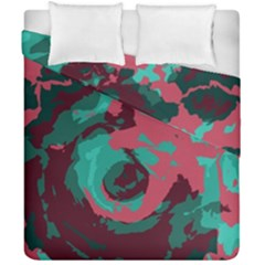 Abstract art Duvet Cover Double Side (California King Size) by ValentinaDesign
