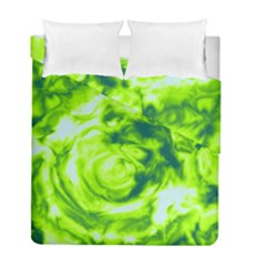 Abstract art Duvet Cover Double Side (Full/ Double Size) by ValentinaDesign