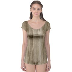 Wooden Structure 3 Boyleg Leotard