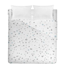 Dots pattern Duvet Cover Double Side (Full/ Double Size) by ValentinaDesign