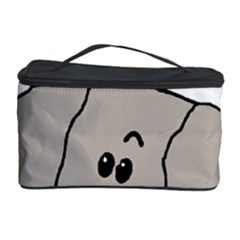 Peeping Weimaraner Cosmetic Storage Case by TailWags