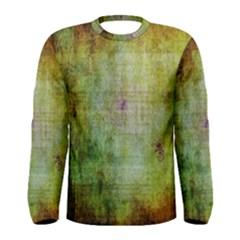 Grunge texture               Men Long Sleeve T-shirt