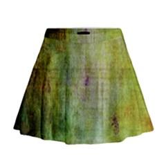 Grunge texture                 Mini Flare Skirt