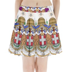 Greater Coat of Arms of Italy, 1870-1890  Pleated Mini Skirt by abbeyz71