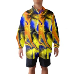 Fractal Art Pattern Cool Wind Breaker (kids) by Nexatart