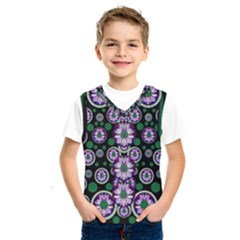 Fantasy Flower Forest  In Peacock Jungle Wood Kids  Sportswear by pepitasart
