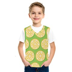 Lime Orange Yellow Green Fruit Kids  Sportswear by Mariart