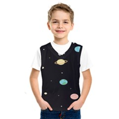 Planets Space Kids  Sportswear by Mariart