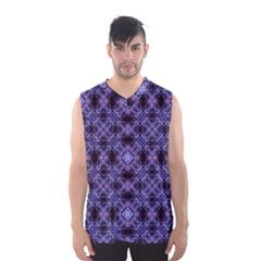 Lavender Moroccan Tilework  Men s Basketball Tank Top by KirstenStar