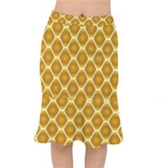 Snake Abstract Pattern Mermaid Skirt