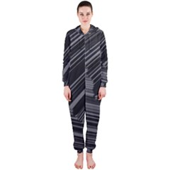 Paper Low Key A4 Studio Lines Hooded Jumpsuit (ladies)