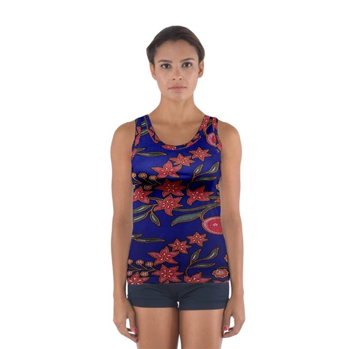 Batik  Fabric Sport Tank Top
