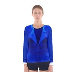 Hillary Clinton Blue Suit Faux Women s Long Sleeve Tee