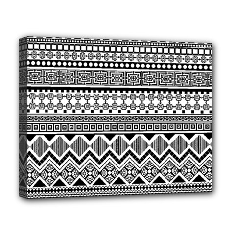Aztec Pattern Design Deluxe Canvas 20  X 16   by BangZart