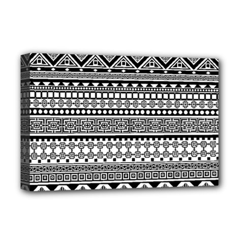 Aztec Pattern Design(1) Deluxe Canvas 18  X 12   by BangZart