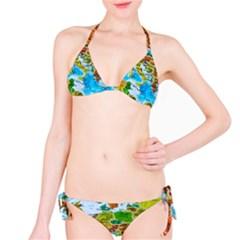 World Map Bikini Set