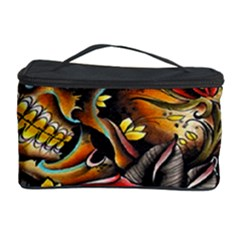 Flower Art Traditional Cosmetic Storage Case by BangZart