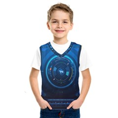 Technology Dashboard Kids  Sportswear by BangZart