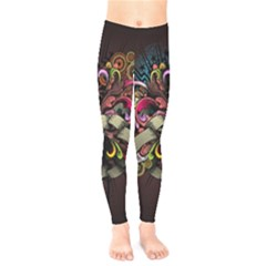 Design Drawing Colorful Creative  Kids  Legging by amphoto